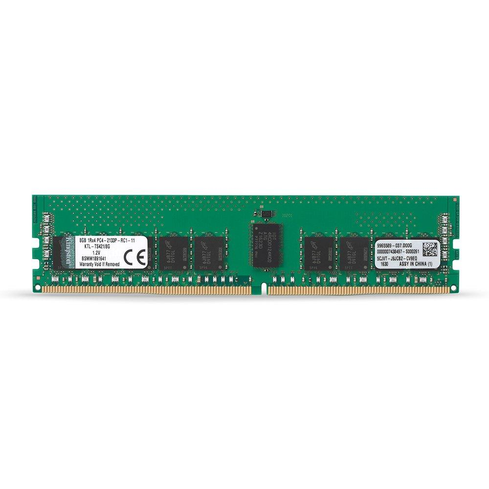 Kingston ValueRAM 4GB (1 x 4GB) Memory Module DDR4 2400MHz CL17 ECC 288-Pin DIMM Registered 1.2V