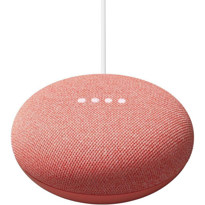 Google Nest Mini 2nd Generation - Coral (Official UK Version)