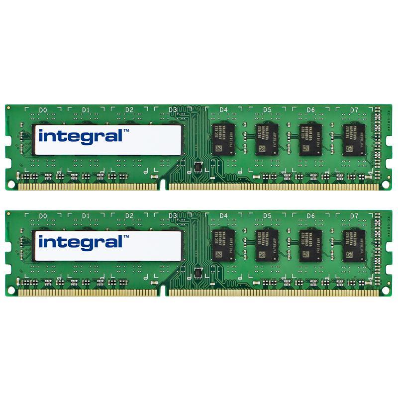 Integral 8GB (2x 4GB) 1600MHz DDR3 DIMM PC Memory Module Kit