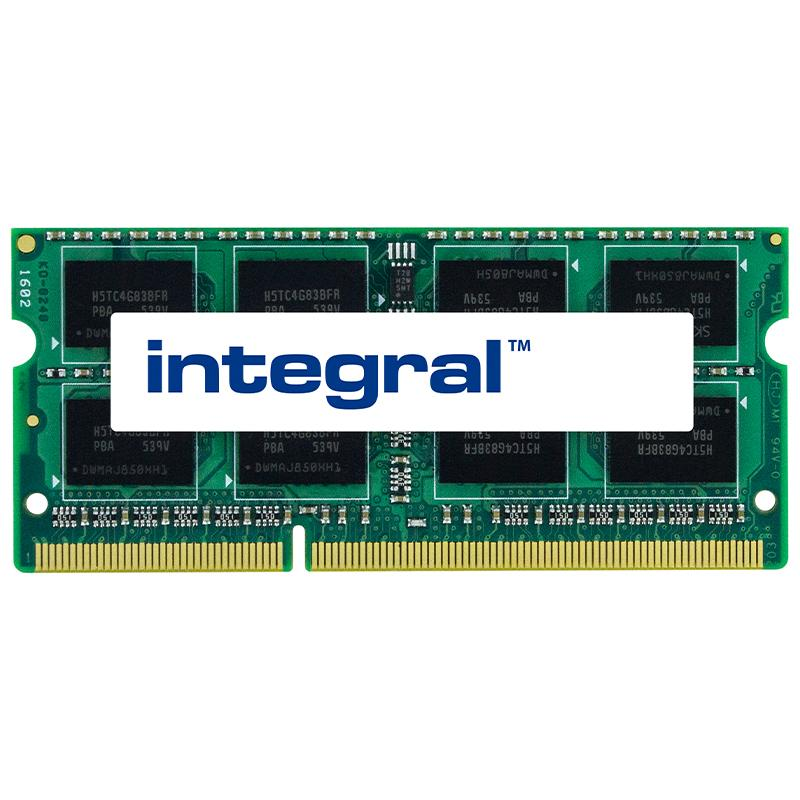 Integral 4GB (1x 4GB) 1600MHz DDR3 SODIMM CL11 Laptop Memory Module