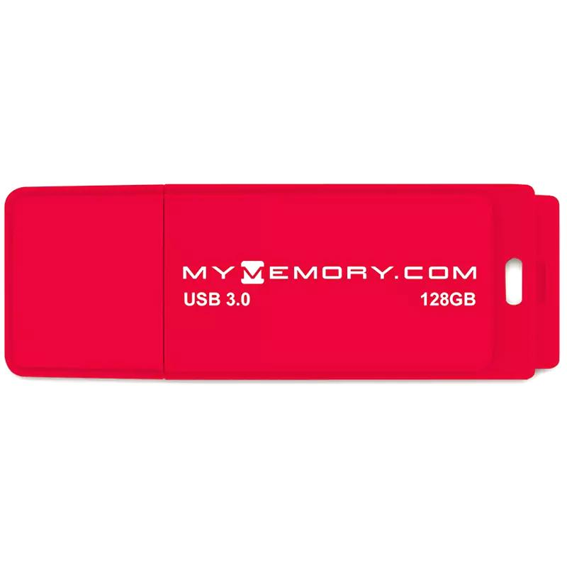 MyMemory 128GB USB 3.0 Flash Drive 200MB/s - Red