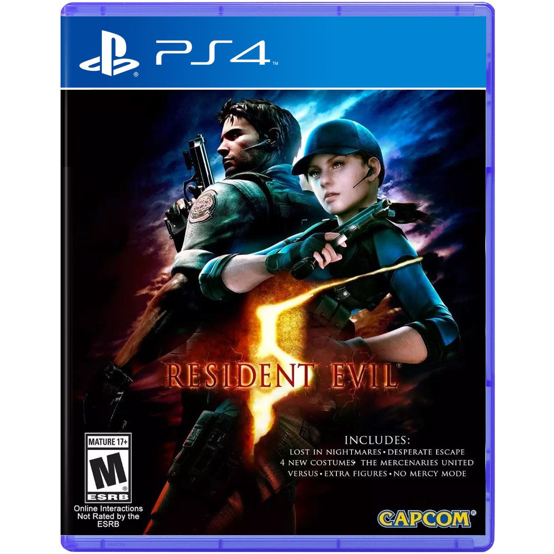 Resident Evil 5 (Sony PS4)
