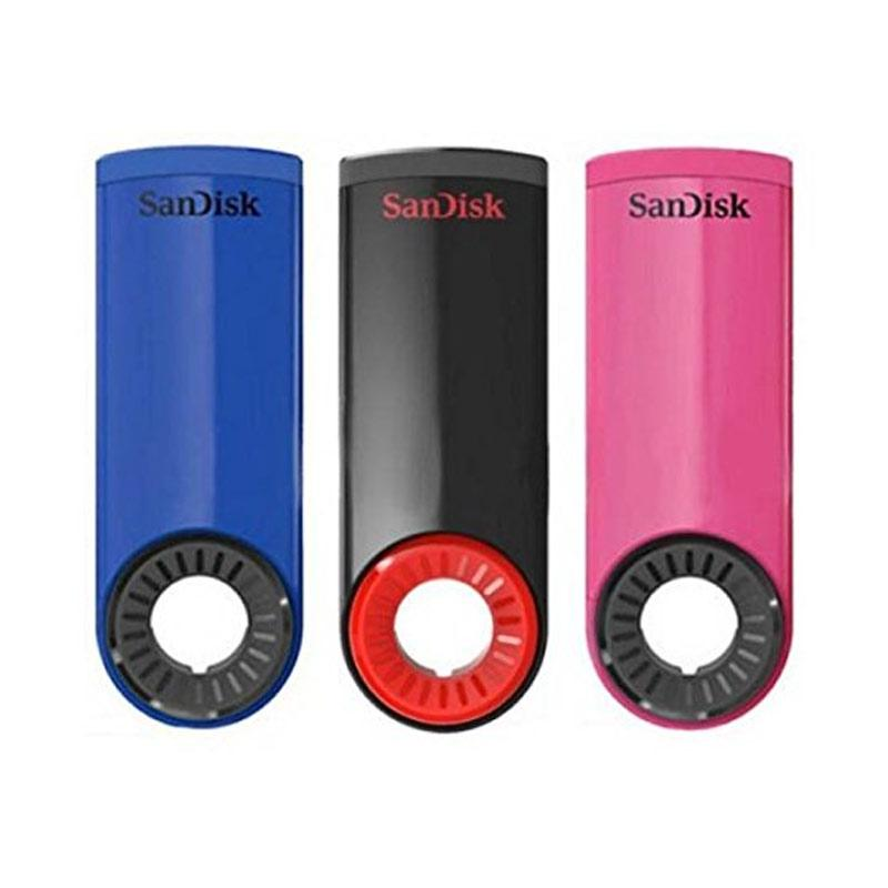 SanDisk 16GB Cruzer Dial USB Flash Drive - 3 Pack