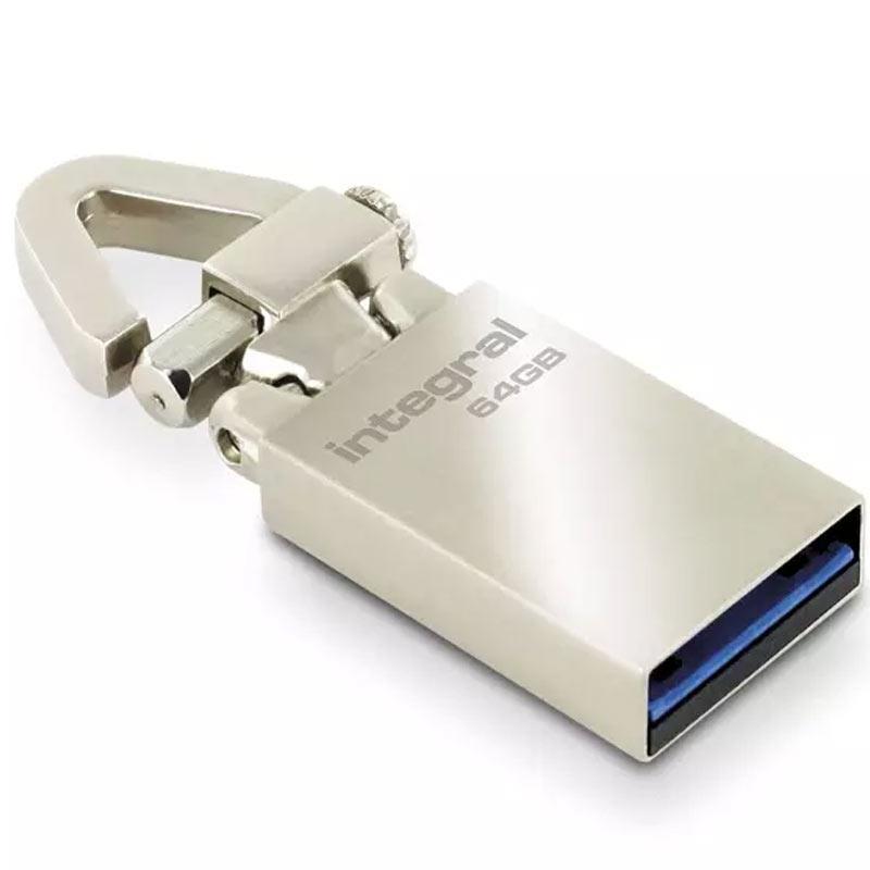 Integral 64GB Tag USB 3.0 Flash Drive - 120Mb/s