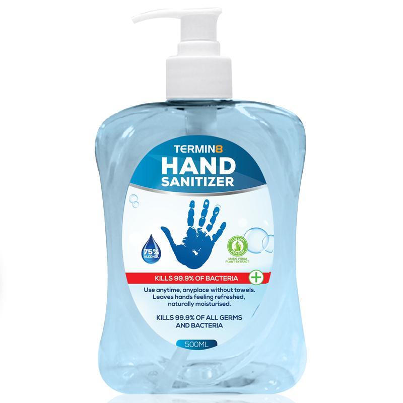 Termin8-19 Hand Sanitiser 75% Alcohol - 500ML