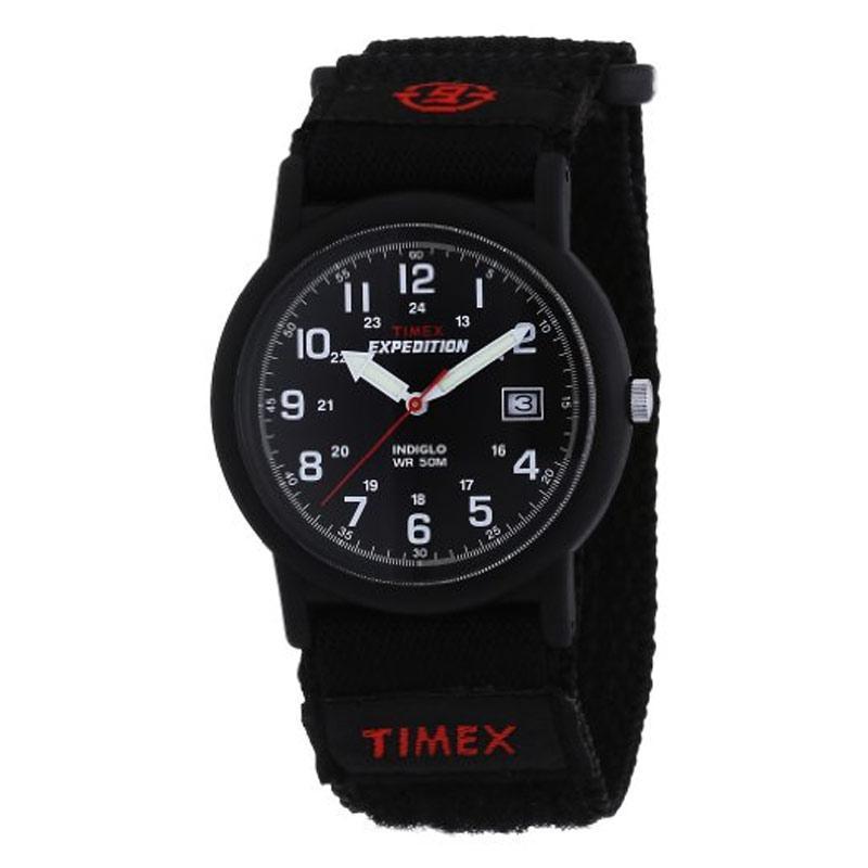 Timex Mens Expedition Camper Analogue Quartz Black Watch (T40011)