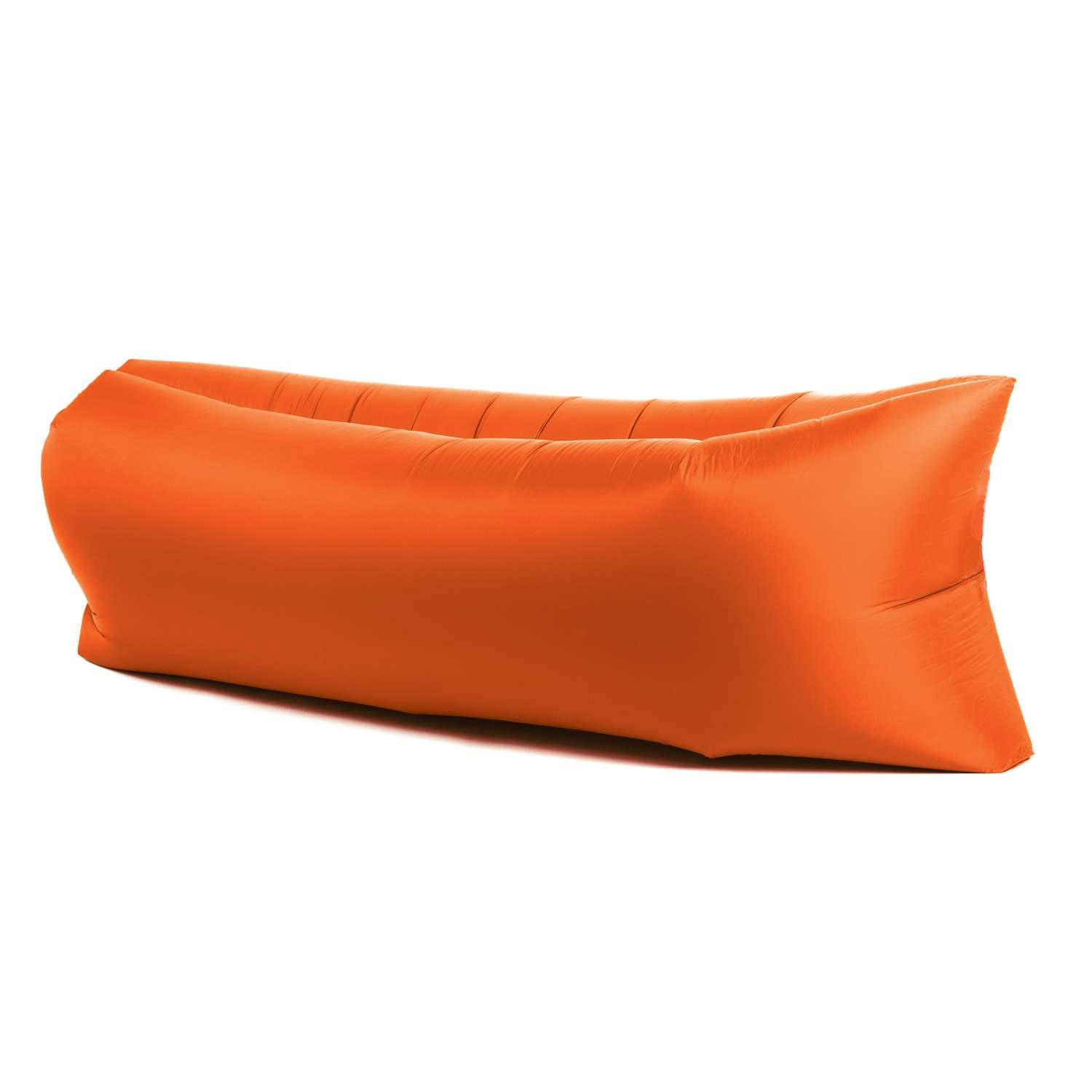 Anywhere Inflatable Lounger Indoor Amp Outdoor Orange