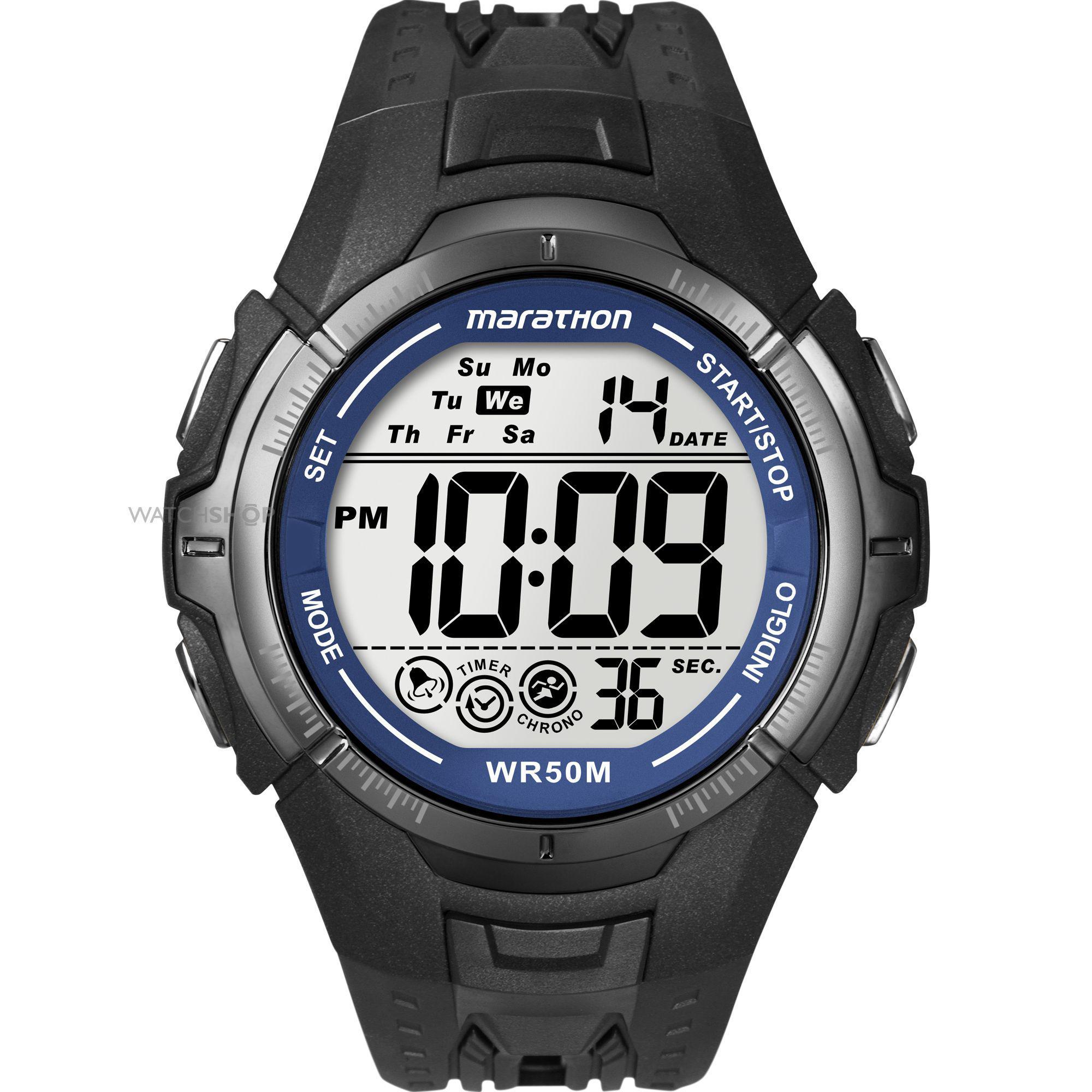 Timex Mens Ironman Marathon Digital Watch (T5K359)