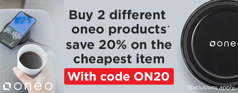 Buy 2 Different oneo Products Save 20% on the cheapest item