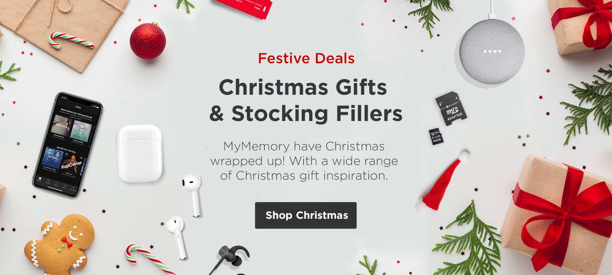 Shop Christmas with MyMemory