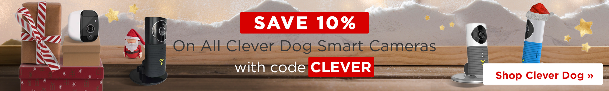 Save 10% on all Clever Dog with code CLEVER