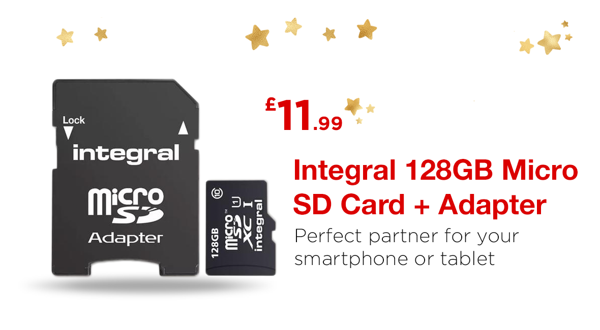 Integral 128GB MicroSD Cyber Monday Deal