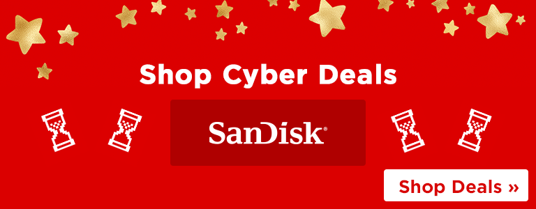 Shop Cyber Memory Monday Deals