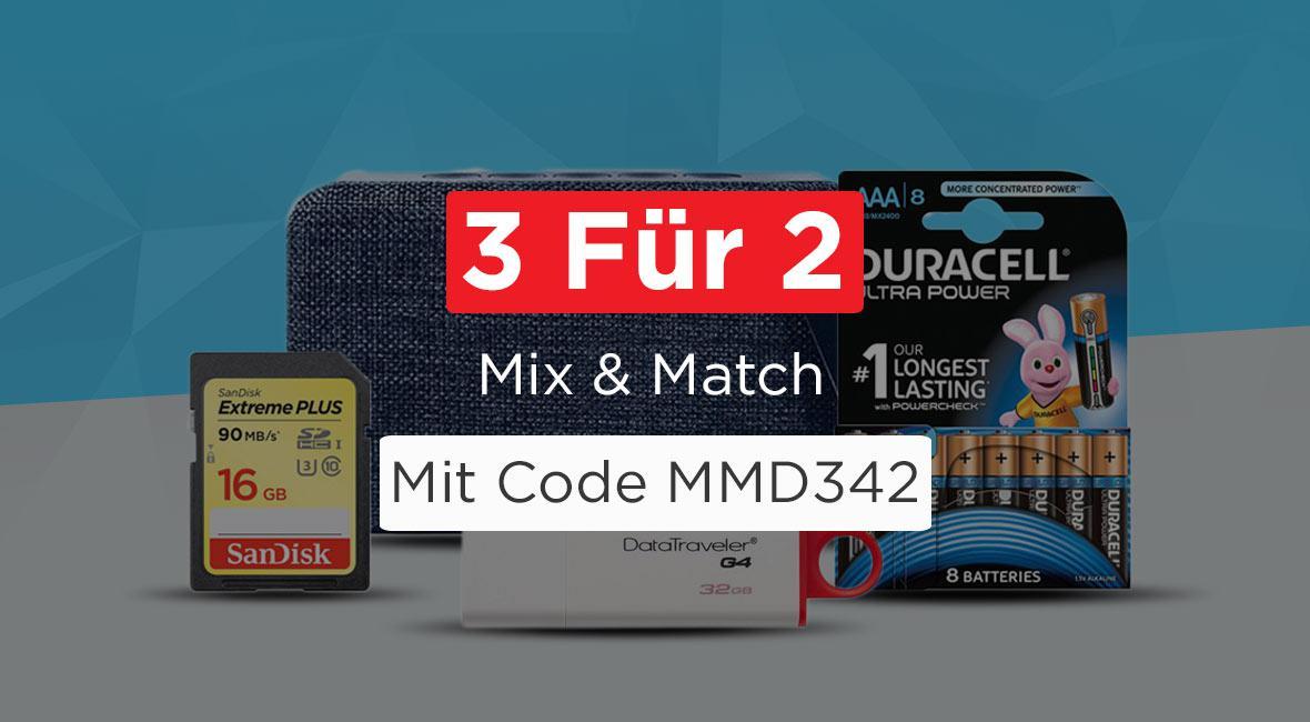 Mix und Match 3 Für 2