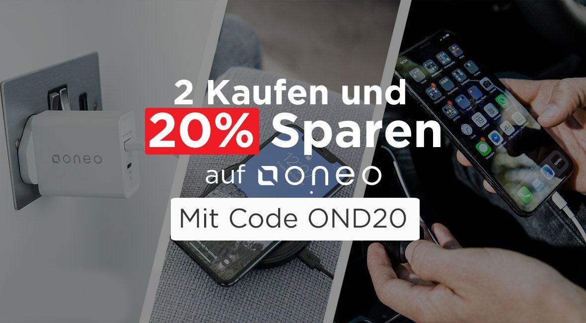 oneo 2 kaufen und 20% sparen