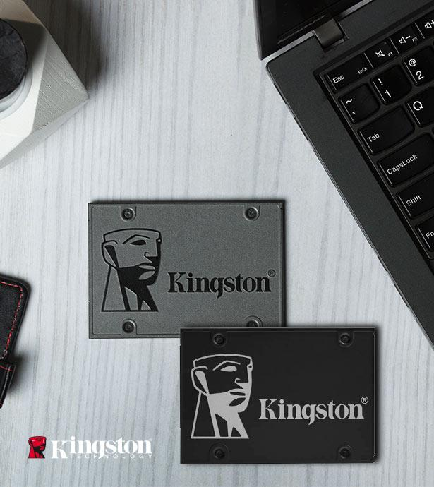 Kingston SSD, Memory Cards, RAM and more