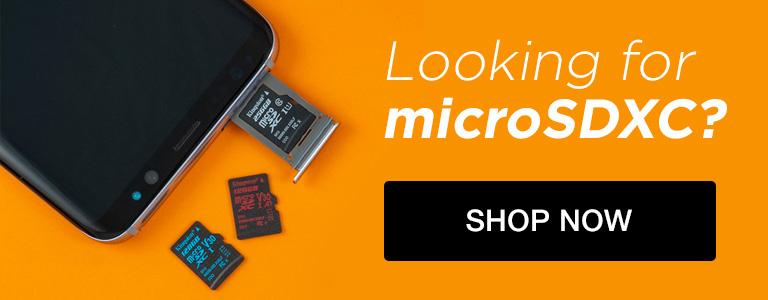 Looking for microSDXC