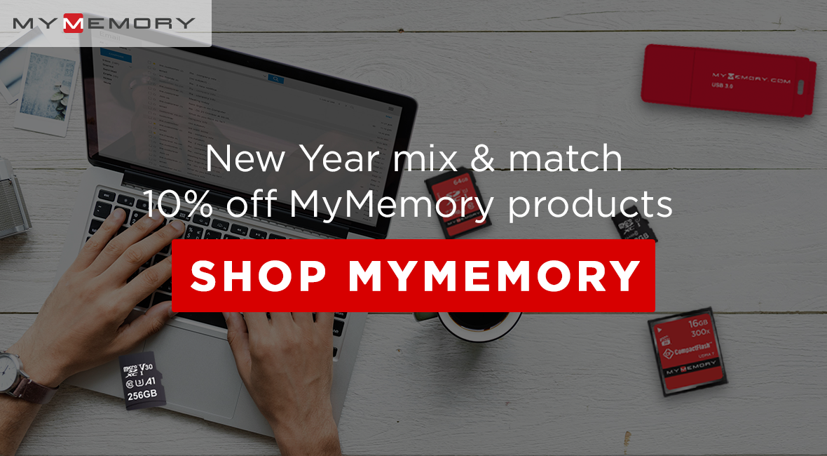 New Year mix and match 10% off MyMemory Products