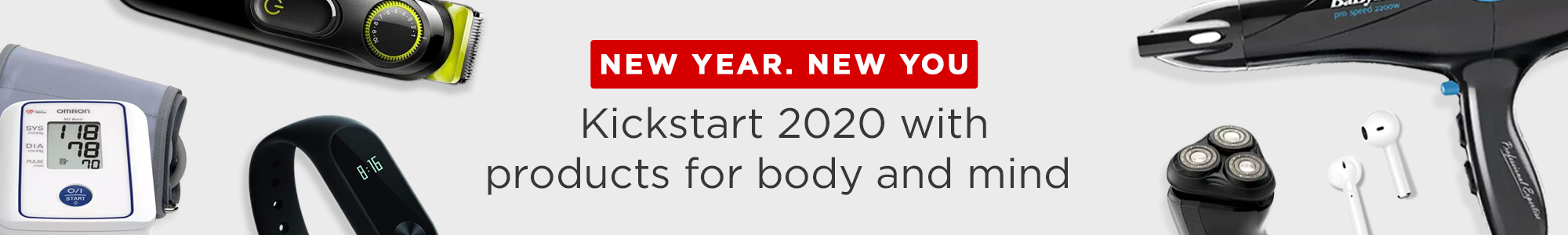 Kickstart 2020 with products for body and mind