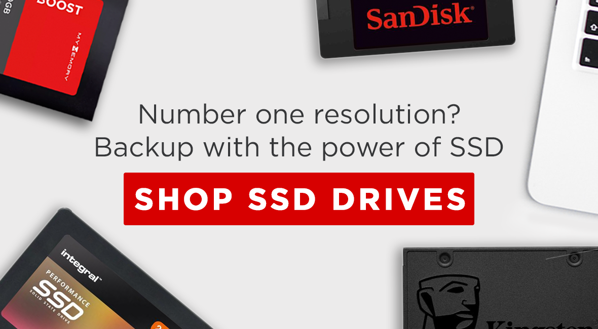 Number one resolution? Backup with the power of SSD